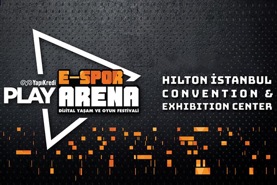 Yapı Kredi Play E-Spor Arena Oyun ve Dijital Yaşam Festivali Başlıyor!