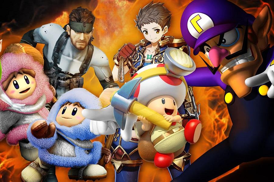 Super Smash Bros. Ultimate'de Tüm Karakterler Olacak!