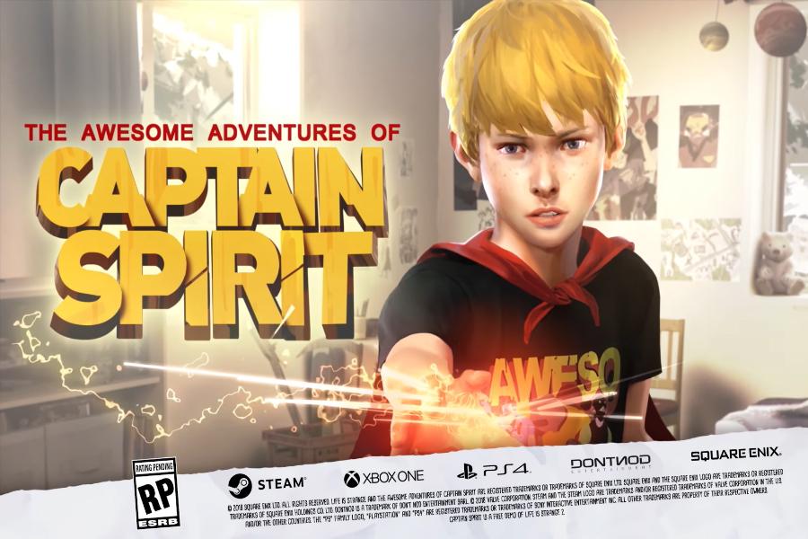 The Awesome Adventures of Captain Spirit Ücretsiz Olarak Çıktı