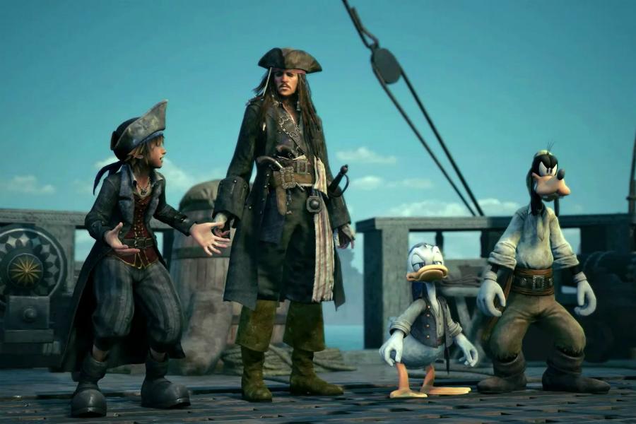 Kingdom Hearts III İçin Karayip Korsanları Fragmanı