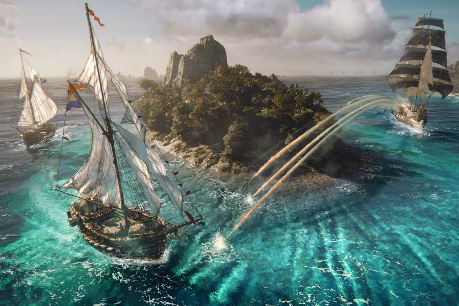 Korsanlık Oyunu Skull & Bones İçin Oynanış Videosu Yayınlandı