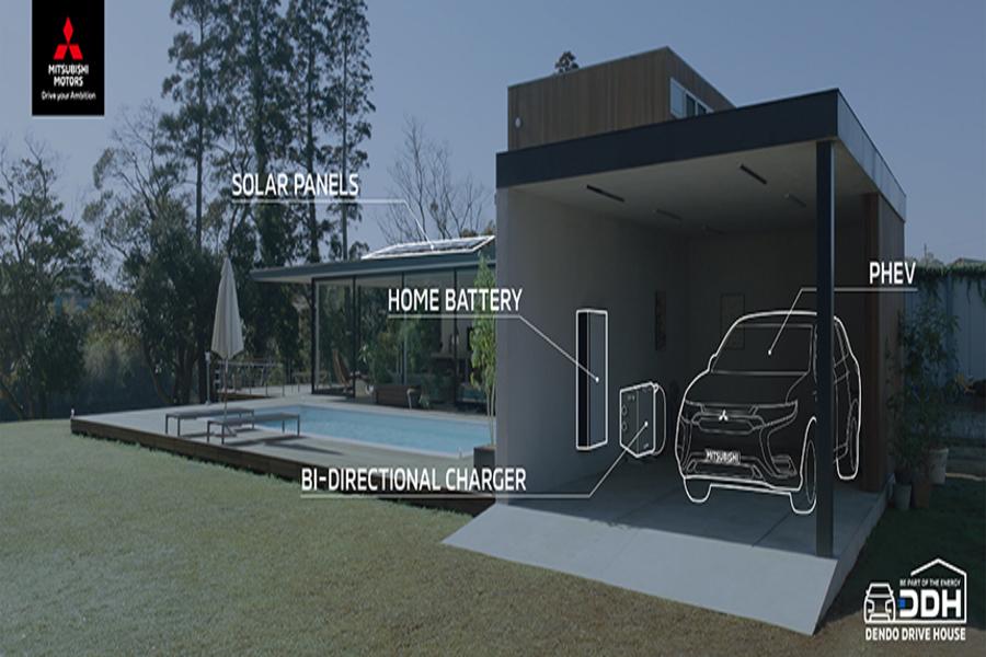 Mitsubishi'nin Yeni Sistemi İle Arabanızla Evinize Elektrik Sağlayabilirsiniz
