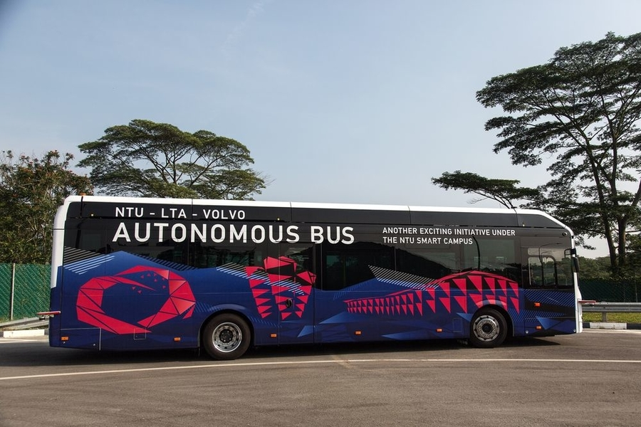 Volvo Dünyanın İlk Otonom Elektrikli Otobüsünü Üretti