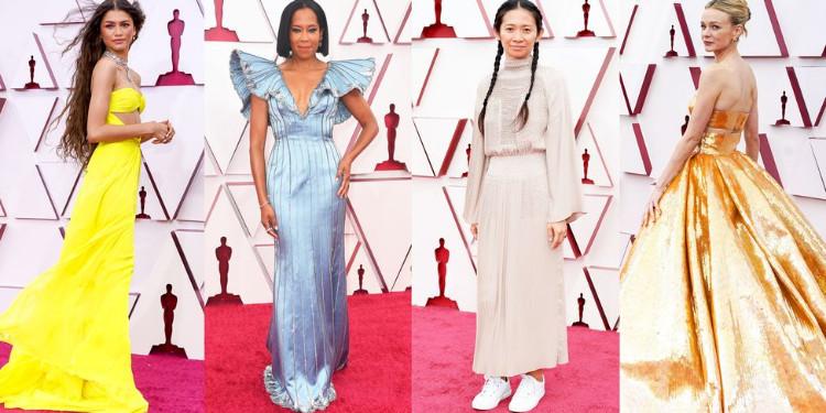2021 Oscar Ödülleri: En İyi Kırmızı Halı Görünümleri