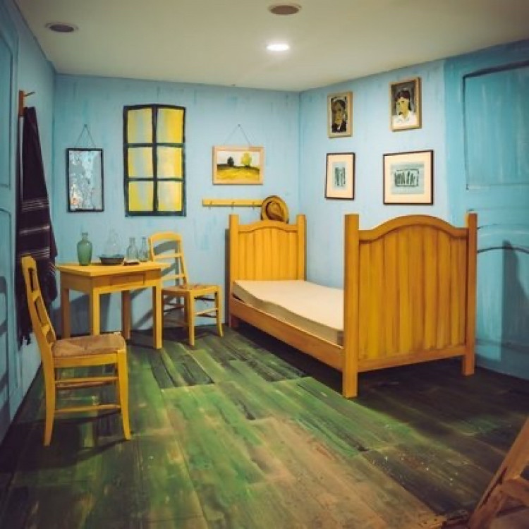 3 Boyutlu Van Gogh Tablosu, Sanat Festivalinde