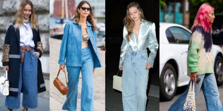 Bir Trendin Dönüşü: Wide Leg Jean Ve 3 Kombin Önerisi