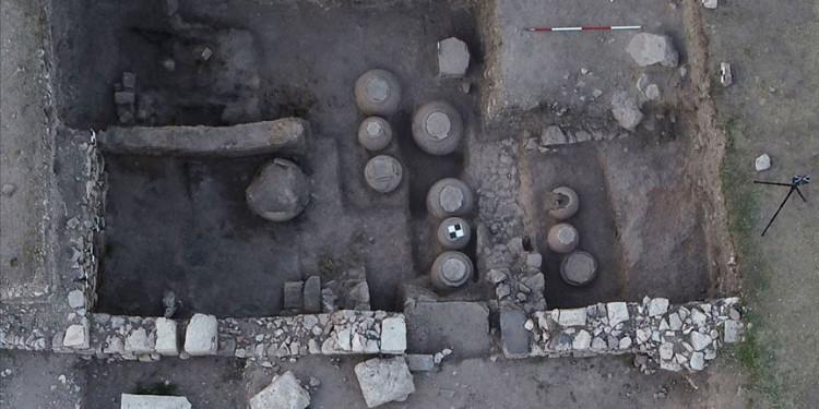 Bizans Kalıntıları: Tahıl Ambarı Bulundu