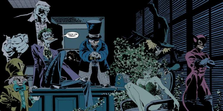 Gotham'In En Karanlık Bir Yılı: Batman Bitmeyen Cadılar Bayramı