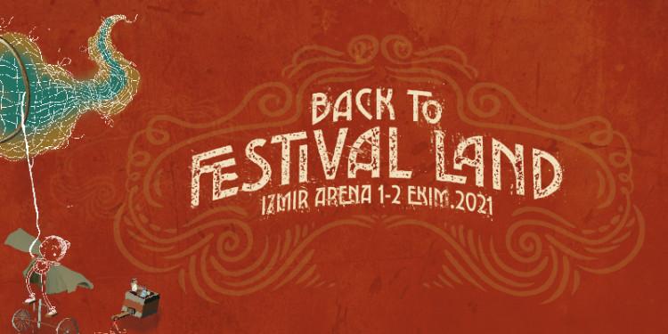İzmir Arenada Gerçekleşicek Olan Back to Festival Land Programı Açıklandı