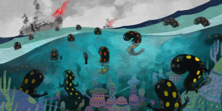 Kopuk Amfibi Distopyası: Semenderle Savaş