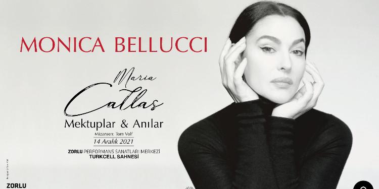 Monica Bellucci, Tek Kişilik Tiyatro Oyunuyla İstanbul'a Geliyor