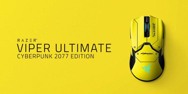 Razer'ın Cyberpunk 2077'ye Özel Oyuncu Faresi: Viper Ultimate Cyberpunk 2077