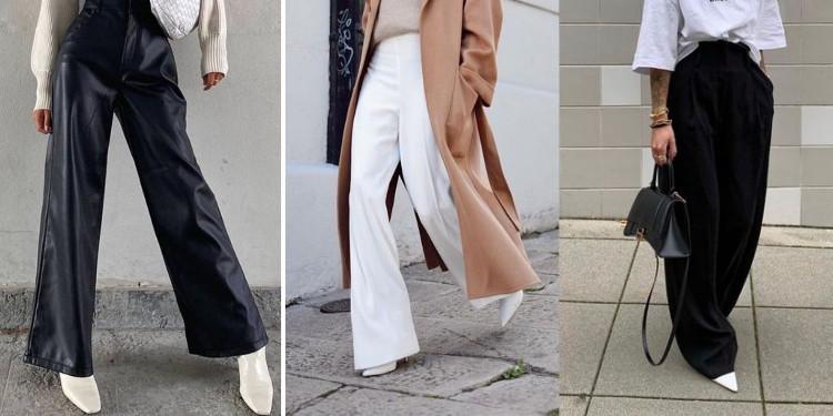 Sezonun Yükselen Trendi: Wide Leg Pantolonlar